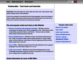 texthandler.com