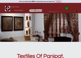 textilesofpanipat.com
