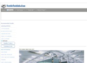 textiletechinfo.com