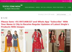textilezoneindia.in
