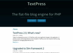 textpress.shameerc.com
