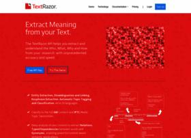 textrazor.com