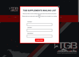 tgbsupplements.com