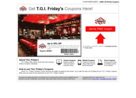 tgifridays.couponrocker.com