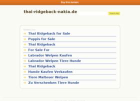 thai-ridgeback-nakia.de