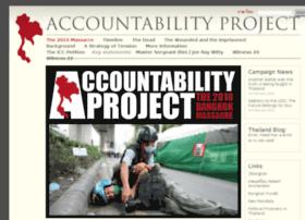 thaiaccountability.org
