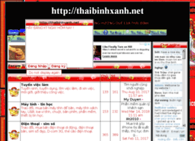 thaibinhxanh.shop-forum.net