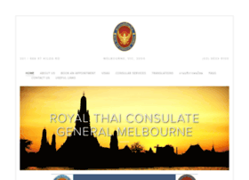thaiconsulatemelbourne.com