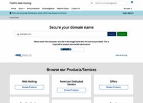 thaiprowebhosting.com