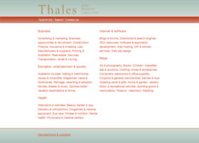 thalesdirectory.com