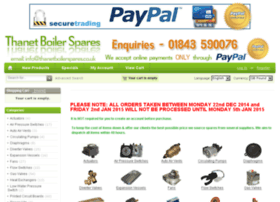 thanetboilerspares.co.uk