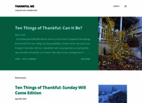 thankfulme.net