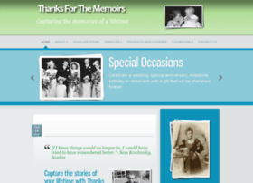 thanksforthememoirs.com