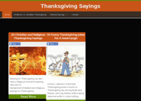 thanksgivingsayings.net