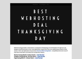 thanksgivingwebhostingdeals.yolasite.com