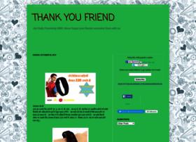 thankyoufriend.in