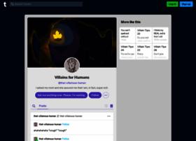 that-villainous-human.tumblr.com