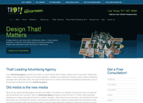 thatadvertisingagency.com