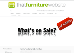 thatfurniturewebsite.co.za