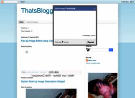 thatsblogginglab2.blogspot.in