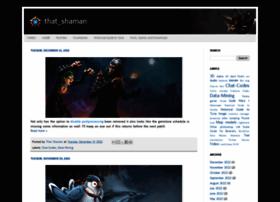 thatshaman.blogspot.ie