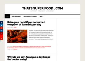 thatssuperfood.com