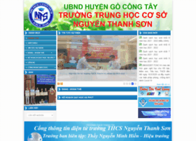thcsthanhtri.tiengiang.edu.vn