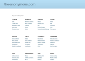 the-anonymous.com