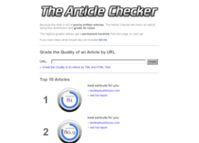 the-article-checker.com