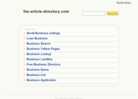 the-article-directory.com