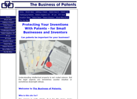 the-business-of-patents.com