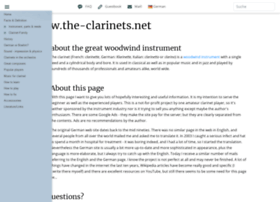 the-clarinets.net