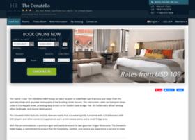 The-donatello.hotel-rez.com