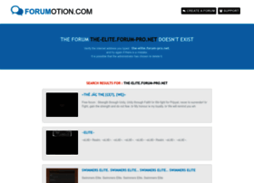 the-elite.forum-pro.net