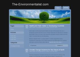the-environmentalist.com