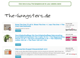 the-gangsters.de
