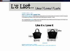 the-l-list.blogspot.com