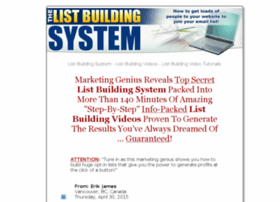 the-list-building-system.com