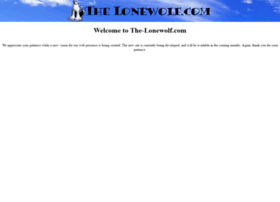 the-lonewolf.com
