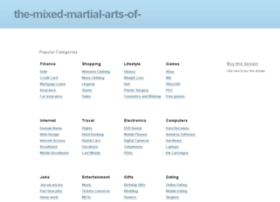 the-mixed-martial-arts-of-mma.com