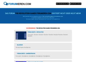 the-revolution-gamer.forumieren.com