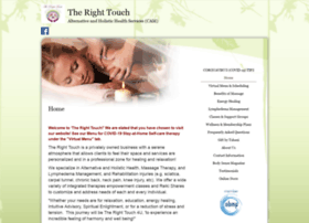 the-right-touch.massagetherapy.com