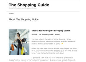 the-shopping-guide.info