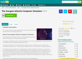 the-stargate-atlantis-computer-simulator.soft112.com