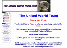 the-united-world-team.com