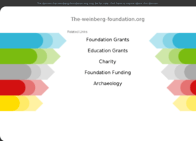 the-weinberg-foundation.org