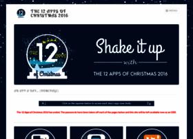 the12appsofchristmas2016.wordpress.com