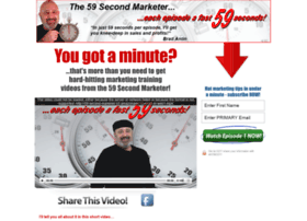 the59secondmarketer.com