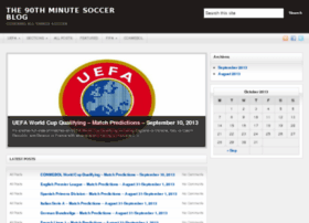 the90thminute.com