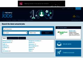 theactuaryjobs.com